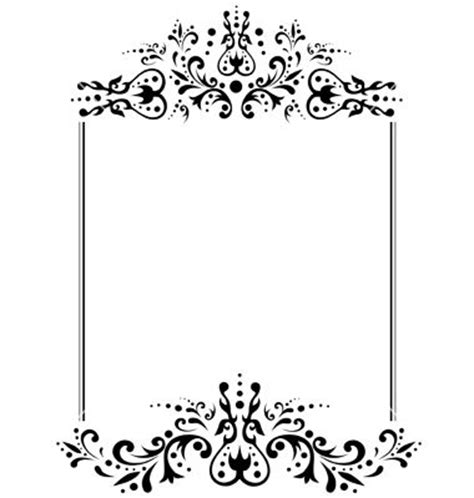 black and white s day card template the world s catalog of ideas