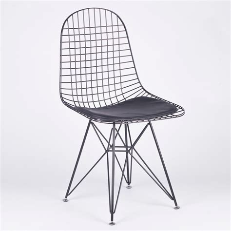 wire dining chairs black mesh eiffel style wire dining chair furniture la