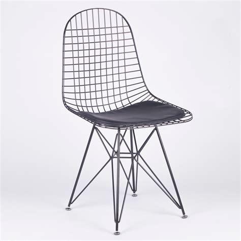 black mesh eiffel style wire dining chair furniture la