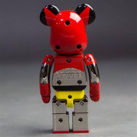 Be Rbrick 400 Getter 1 Bearbrick By Medicom medicom alloyed getter robot getter 1 200 bearbrick figure