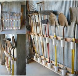 Garage Storage Yard Tools 10 Diy Home Storage Ideas Hirerush