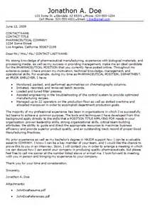 Pharmaceutical Researcher Cover Letter by Pharmaceutical Cover Letter