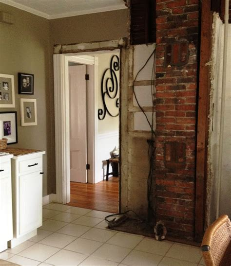 How To Clean Chimney In Kitchen by Loft Cottage Brick Cleanup In The Kitchen