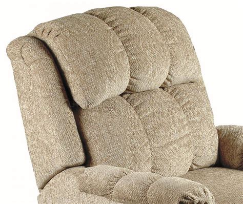 durable chenille cover deluxe rocker recliner