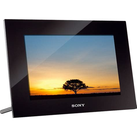 digital photos sony 10 2 quot digital photo frame dpf xr100 b h photo