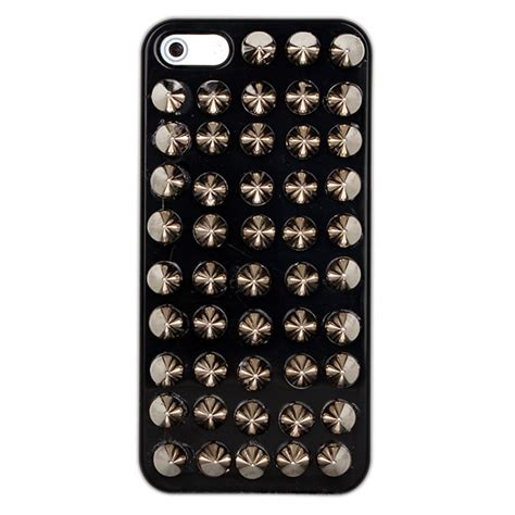 Handmade Iphone 5 Cases - newyorkscene fashion shiny rivet handmade