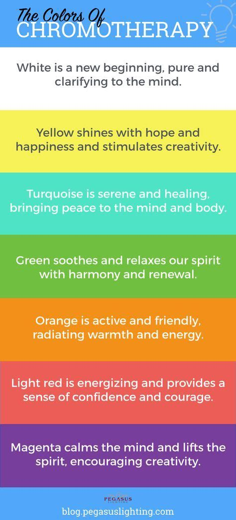 healing colors chromotherapy the healing powers of color light
