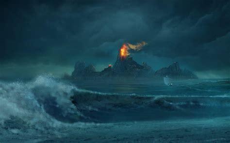 stormy ocean wallpapers wallpaper cave