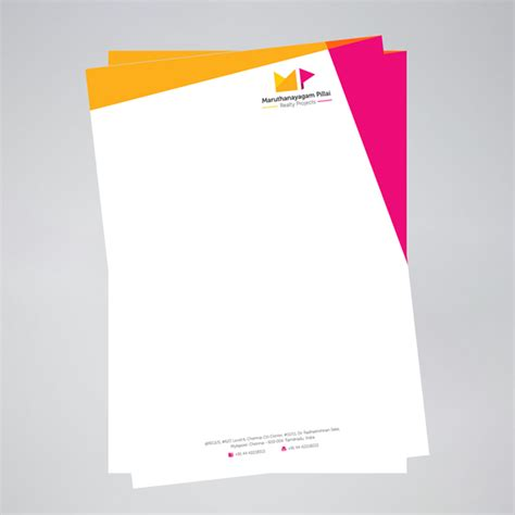 graphic design stationery layouts letterhead justprint print graphic design