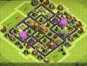 Best Th 7 Bases Coc » Home Design 2017