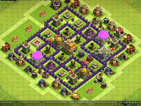 clash of clans th7 farming base best town hall 7 defense strategy 8 best town hall 7 defense bases 2018 3 air defense