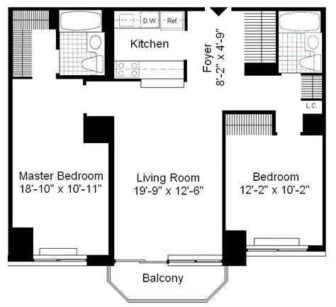 manhattan plaza apartments floor plans 235 west 48th street rentals the ritz plaza apartments