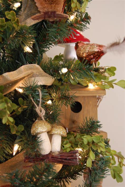 bird themed christmas tree and at leadora a woodland tree