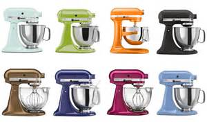 kitchen aid mixer colors kitchenaid stand mixers
