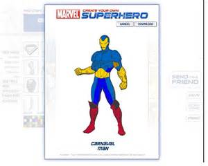 Design Your Own Marvel Create Your Own