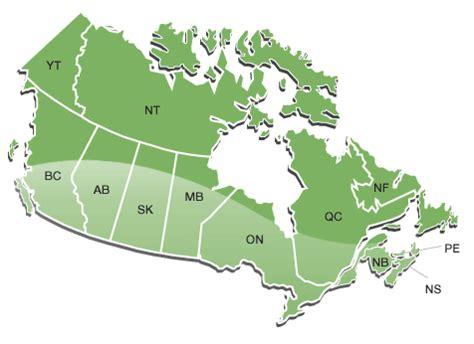 canada trails & canadian trail maps