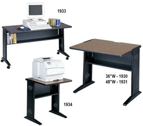 safco 1933 54 reversible top desk safco reversible top computer desks 1930 1931 1933 1934