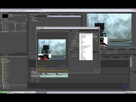 export adobe premiere pro cs4 adobe premiere pro cs4 tutorial exporting youtube