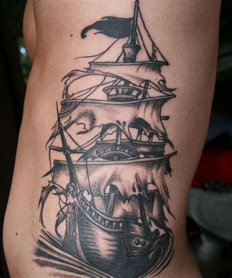 big ass tattoo big pirate ship jpg 500 215 600 pixels octopus and