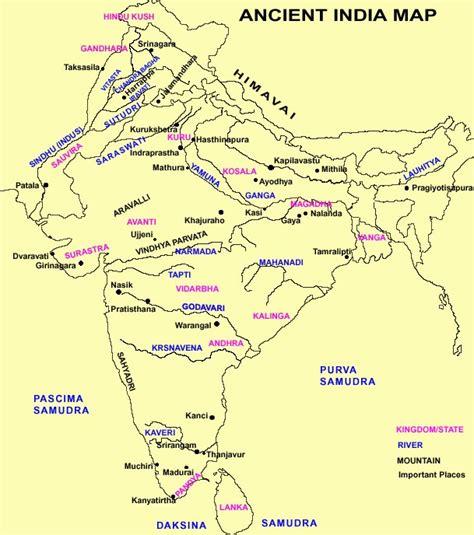 ancient india map the vinod wadhawan ancient india