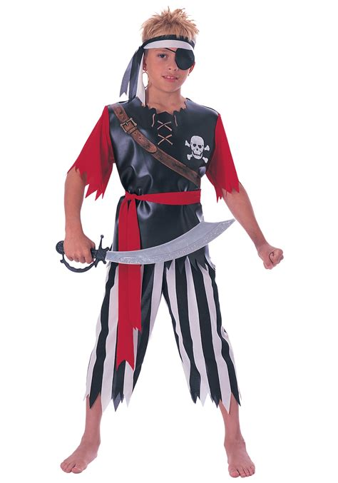halloween costumes child pirate king costume