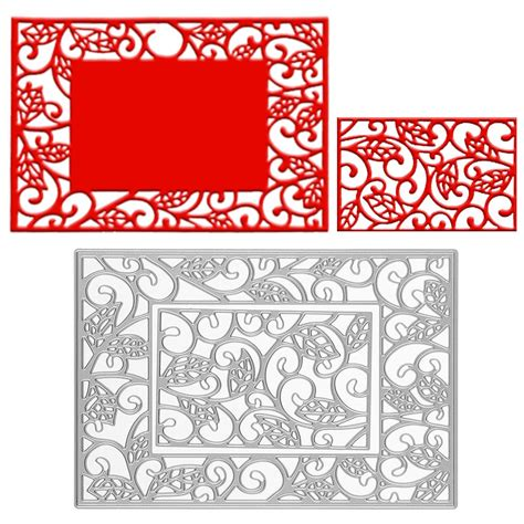 embossing template new punching embossing stencil die cutting sting card