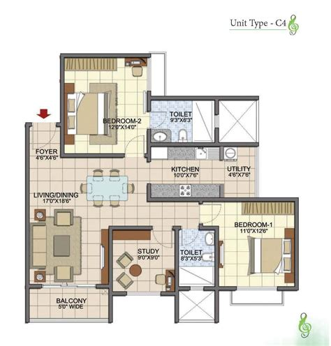 2 5 bhk floor plan 2 5 bhk floor plan 28 images rainforest 1 2 2 5 bhk