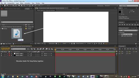 c tutorial audio tutorial after effect cara membuat audio spectrum
