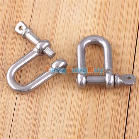 boat anchor shackle 2pcs boats marine metal m4 4mm screw pin anchor chain d