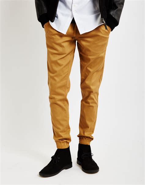 Celana Jogger Brown Gold lyst timberland sprinter joggers in brown for