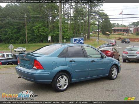 2001 ford focus sedan 2001 ford focus se sedan malibu blue metallic medium