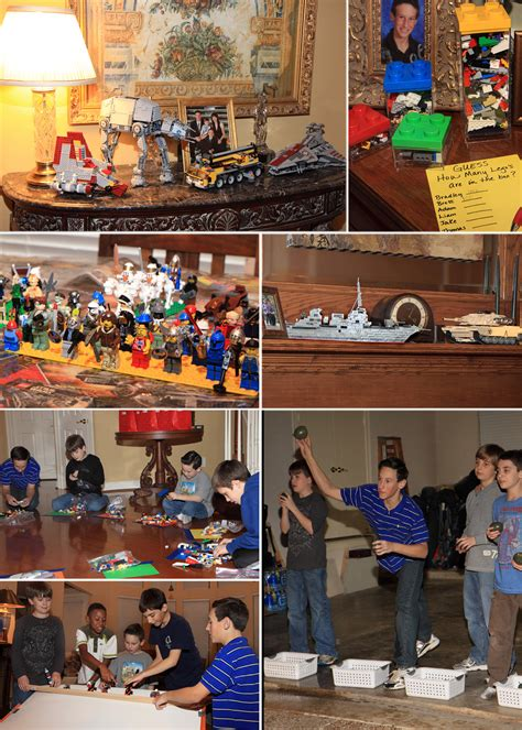 themed birthday parties for 11 year olds an 11 year old boy s lego birthday party submit an entry