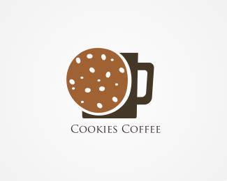 cookies coffee logo designed  danoen brandcrowd