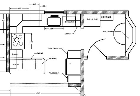 Kitchen Blueprints wonderful kitchen layout plans for totally comfortable