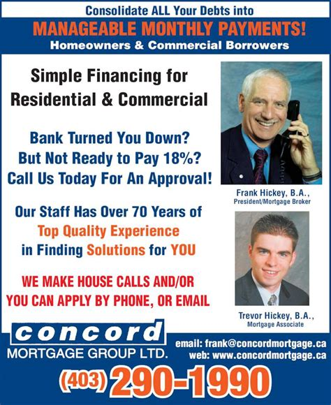 top house mortgage solutions ltd concord mortgage group opening hours 107 1905 centre st nw calgary ab