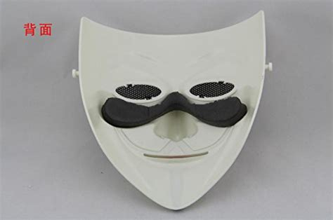 V In The Silver Mask tech p v for vendetta mask protective mask for