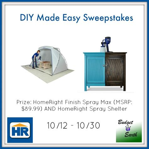 Easy Sweepstakes - diy made easy sweepstakes