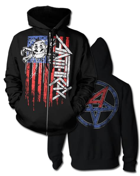 Hoodie Anthrax Worship Metal High Quality anthrax not board apparel anthrax store