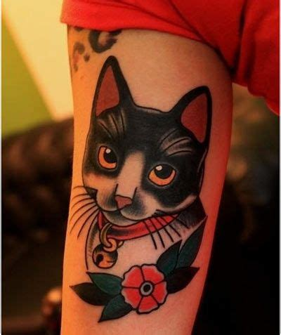 small cat face tattoo top 25 best cat tattoos ideas on cat