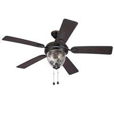 allegheny ceiling fan 169 52 in allegheny bronze outdoor ceiling fan