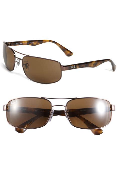 Bridge Polarized Sunglasses ban polarized bridge sunglasses in brown for