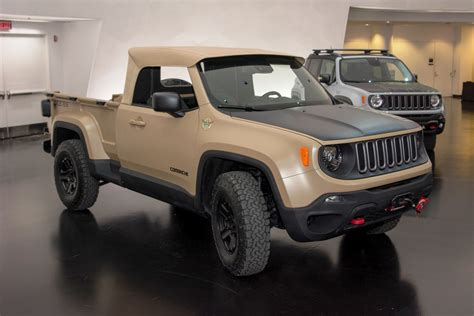 new jeep renegade convertible jeep renegade comanche 5 1 newcar design