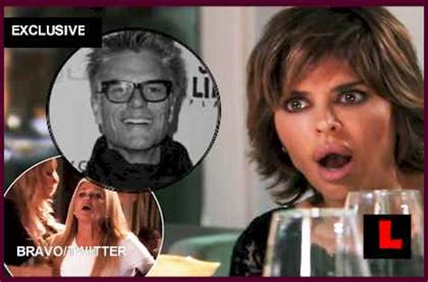who did harry hamlin cheat with harry hamlin cheated on lisa rinna kim battles rhobh