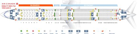 Seat Map Boeing Air Canada by Seat Map Boeing 777 300 Air Canada Best Seats In Plane