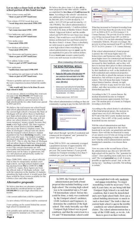 printable version pdf fruitport school district voters millage for new high