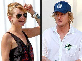Owen And Kate Get Luke Wilsons Blessing by Kate Hudson Owen Wilson Call It Quits