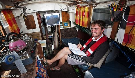 how to live on a boat full time masters student lives aboard a yacht he bought for 163 800 to
