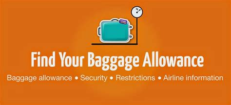 united airline baggage limit baggage allowances for major airlines