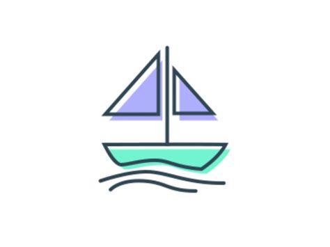 lake boat icon icon boat by mscrew dribbble dribbble