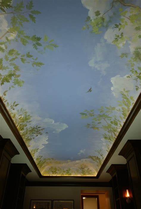 how to make clouds on ceiling finally finished cloud ceiling home